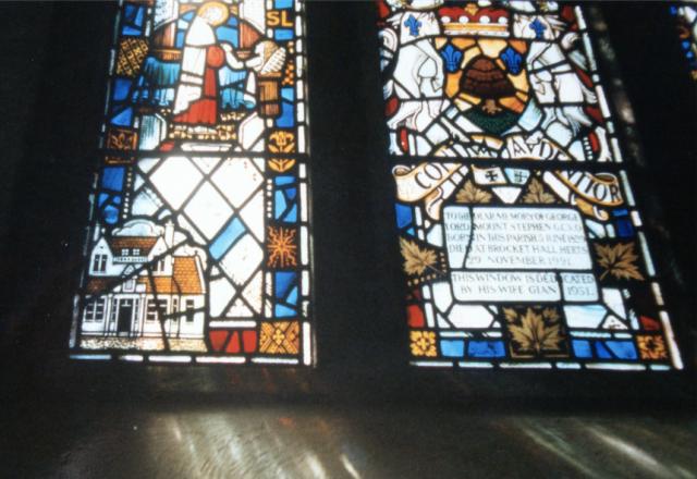 Stephen Cottage Hospital window