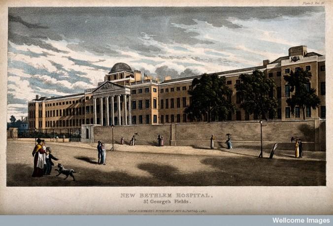 V0013727 The Hospital of Bethlem [Bedlam], St. George's Fields, Lambe