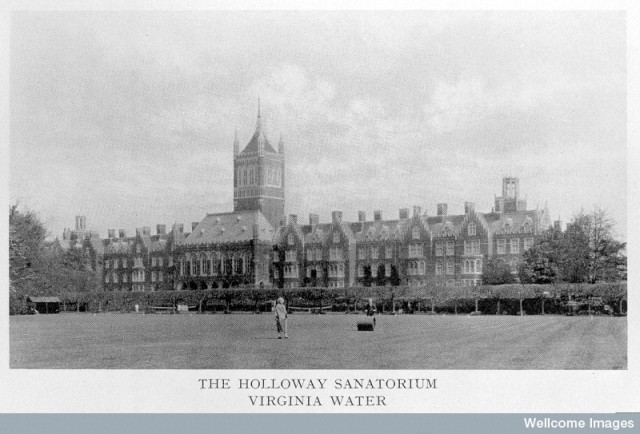 L0011383 Holloway Sanatorium, Virginia Water, 1885.