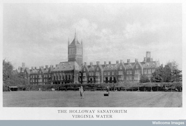 L0011383 Holloway Sanatorium, Virginia Water, 1885.
