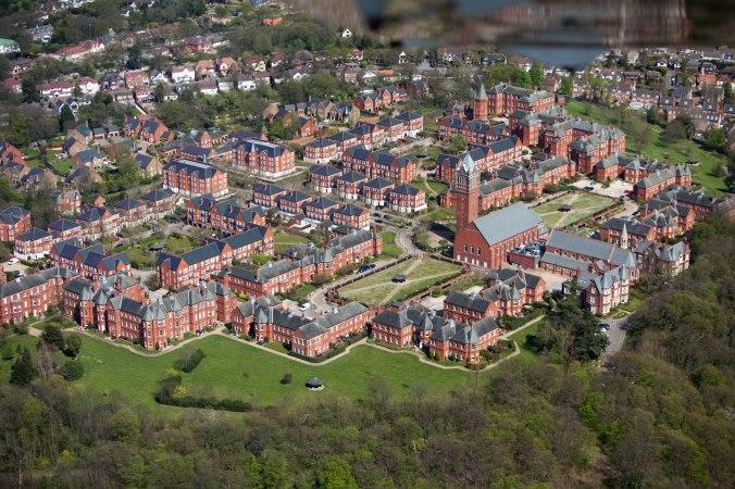 Claybury Mental hospital, or London County Lunatic Asylum, Ilfor