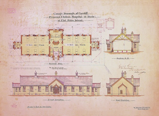 Flat_Holm_isolation_hospital_plan_April_1895