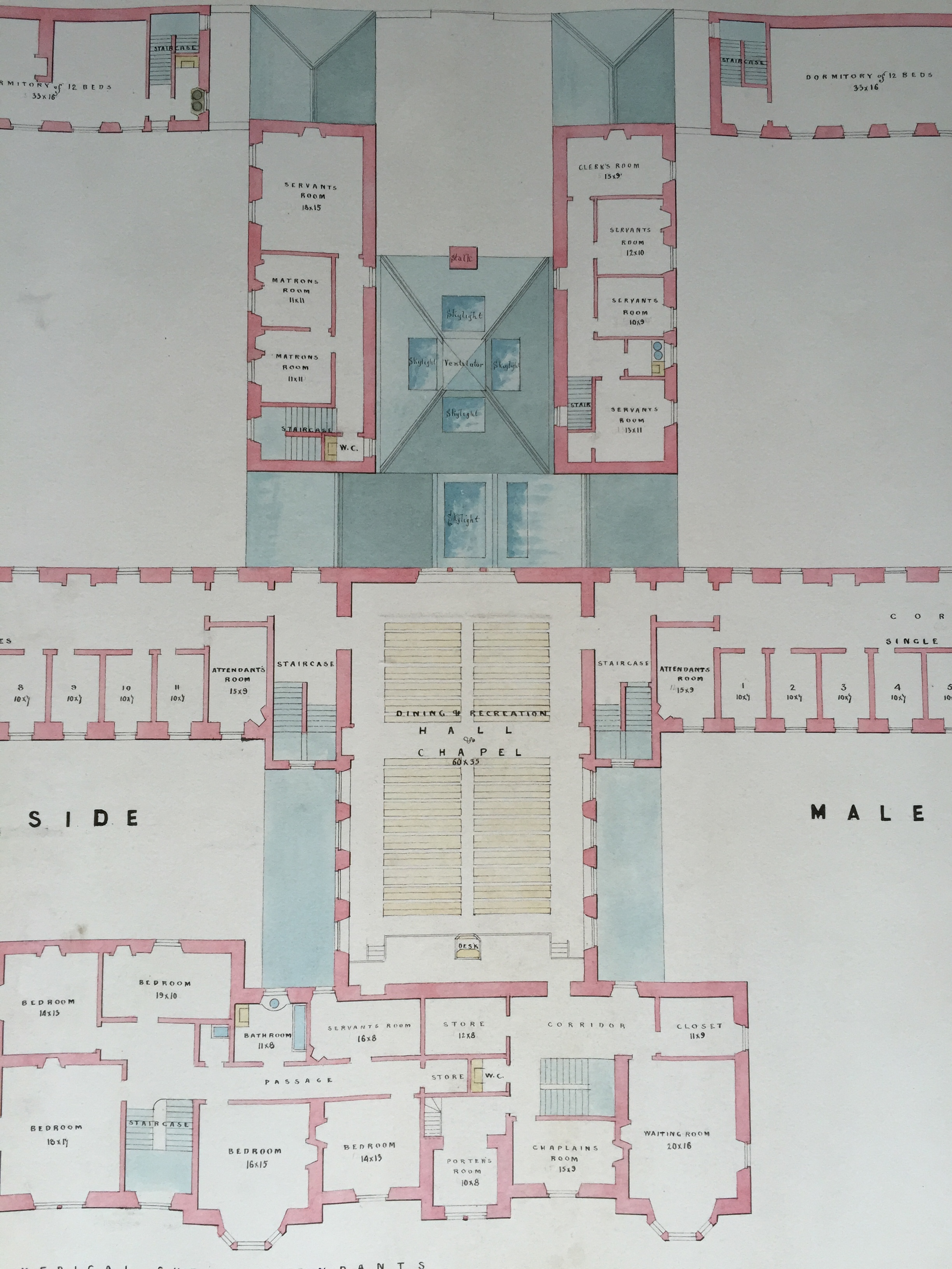 Ayr District Asylum William Railton S Unbuilt Design