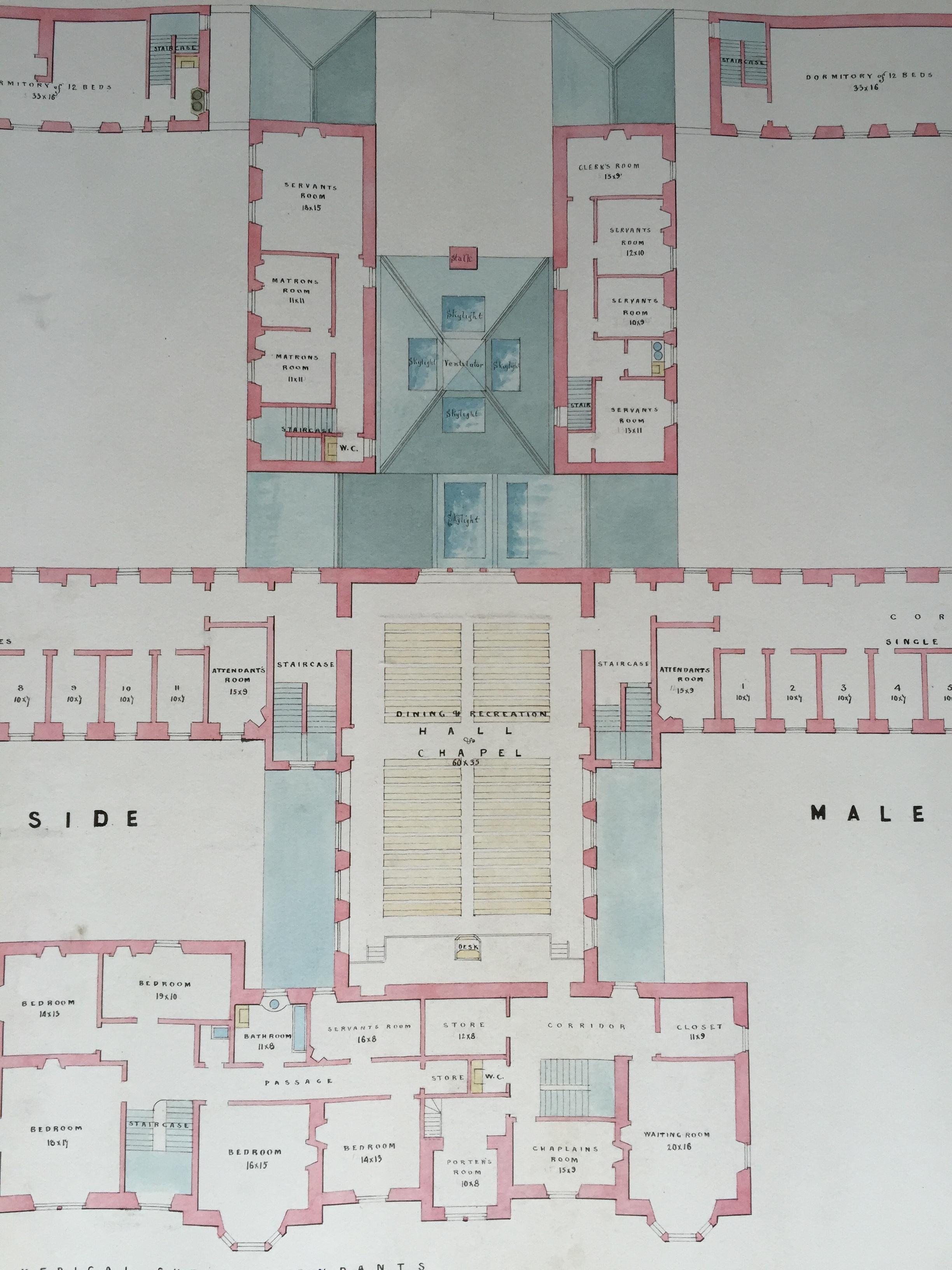 Ayr District Asylum William Railton S Unbuilt Design