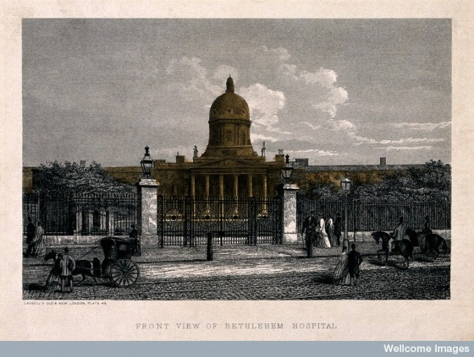 V0013730 The Hospital of Bethlem [Bedlam], St. George's Fields, Lambe