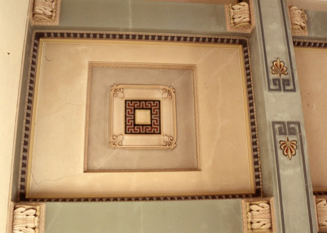 Brislington house chapel ceiling