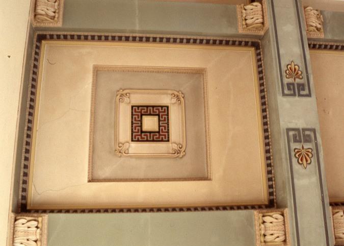 Brislington house chapel ceiling