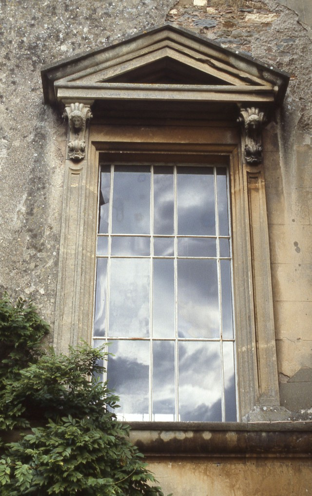 Brislington House chapel window