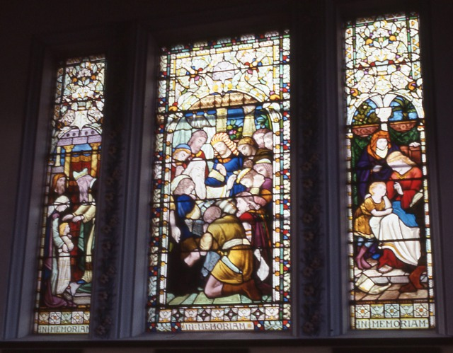 Brislington House chaple window