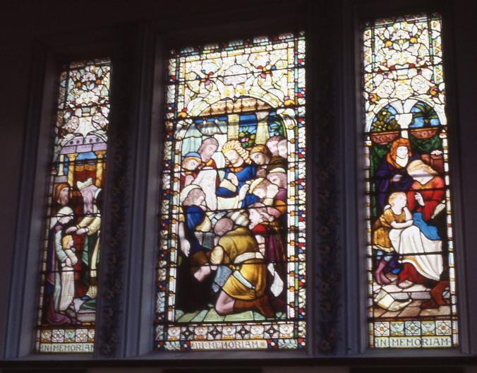 Brislington House chaple window