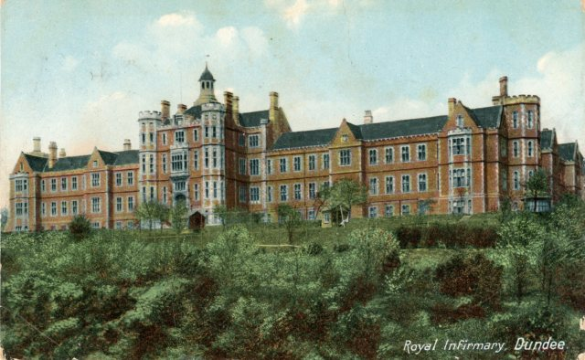Dundee Royal Infirmary, now Regents Gardens | Historic Hospitals