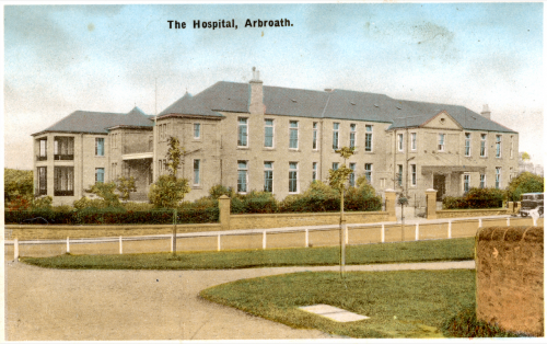 Abroath infirmary poscard