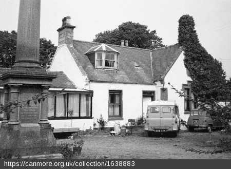 Grampian Alexander Morrisons hospital east portion (c) crown c HES List C Survey 1975 to 6